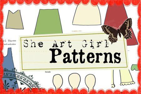 SheArtGirlPattern_Week1