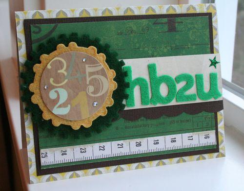 12Mar18 Card HB2U