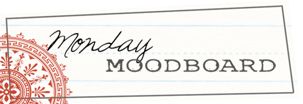MondayMoodBoardRed