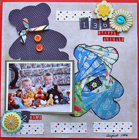 Iris folding page