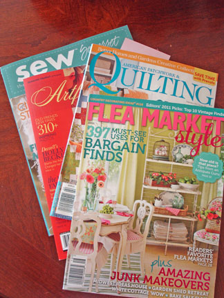 A magazines