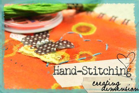 Handstitching