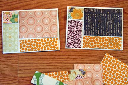 Cards arrange