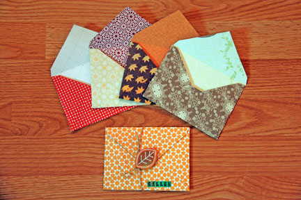 Envelopes finished
