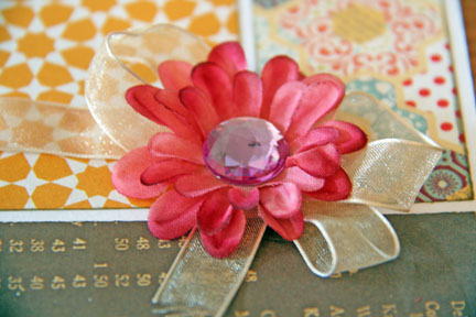Cards close flower