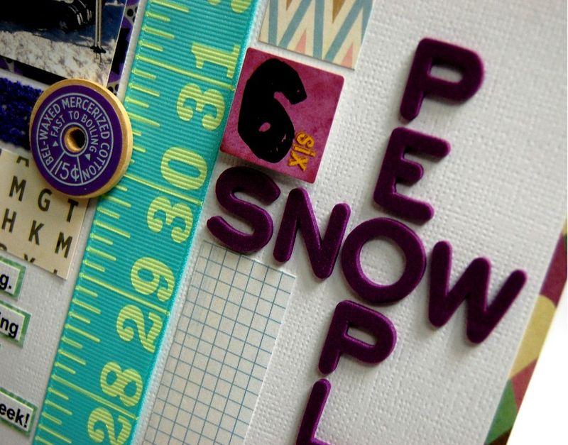 6 Snow People Detail 1