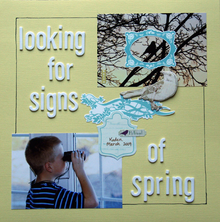 Spring signs
