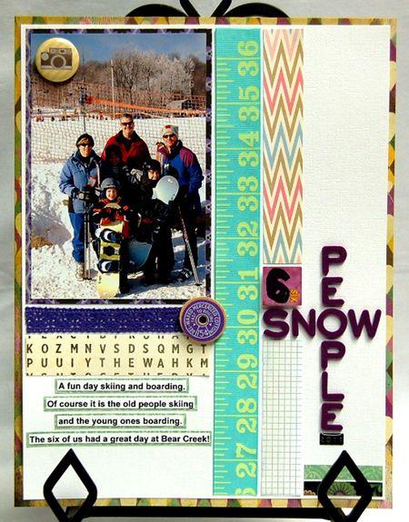 6 Snow People