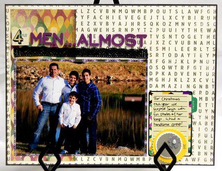 4 men...almost