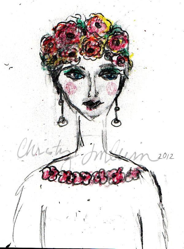 Girlroseshair