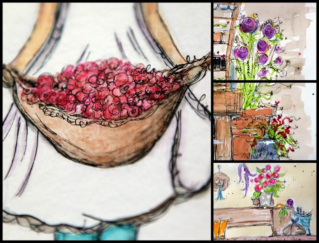 Junelle collage