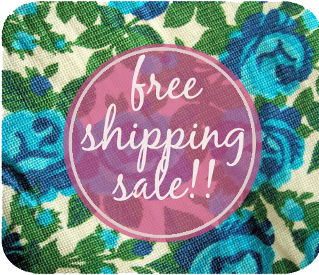 FreeShipsale_BlueFloral