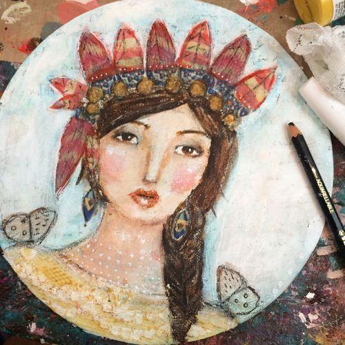 Indianflowergirl