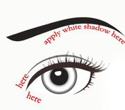 White_shadow_for_eyes